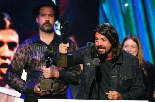 Dave Growl - Nirvana Acceptance Speech Rock & Roll Hall of Fame