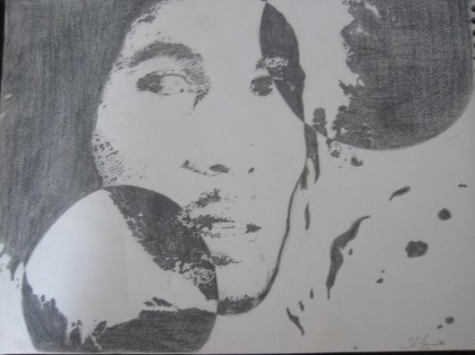 Bob Marley - Pencil - by Shaun Logan